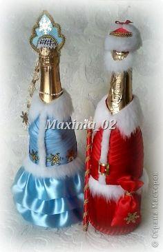 Моя бутылочка на конкурс Ларминии http://stranamasterov.ru/node/660058#comment-9591394 фото 4
