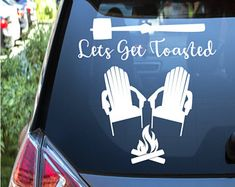 Handmade decals for cars laptops tumblers and by caseybrossigns Get Outdoors, Car Decals, Tumblers, Laptops, Etsy Seller, Adventure, Tote Bag, Cars, Handmade Gifts