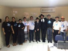 Autoridades religiosas e integrantes da diretoria do CIRN.