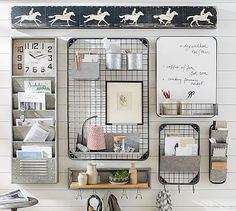 Outsmart clutter with stylish storage solutions from Pottery Barn. Find home organization ideas, inspiration and products to create an organized home.