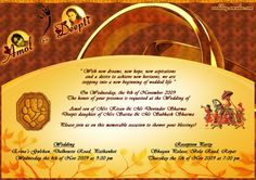 Wedding Card Email Matter. Bengali Wedding Card