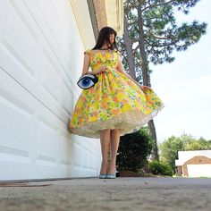Sharing a rather embarrassing (but hilarious) story about the last time I wore this amazing Jerry Gilden dress. Super Cute Dresses, Pretty Dresses, Beautiful Dresses, Rockabilly, Perfect Wife, Circle Dress, Casual Dresses, Summer Dresses, Fifties Fashion