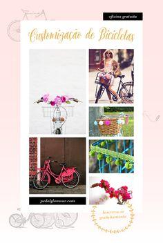 Oficina de customização de bicicleta. Inscreva-se gratuitamente pelo email cecilia@prediato.com.br