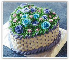 Learn how to bake and decorate cakes. Elegant Desserts, Elegant Cakes, Delicious Cake Recipes, Yummy Cakes, Beautiful Cakes, Amazing Cakes, Basket Weave Cake, Gateau Cake, Cake Decorating Tutorials