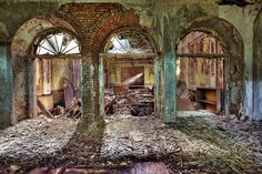 Care Home, (formerly a hospital in World War I) Photography by Gina Soden