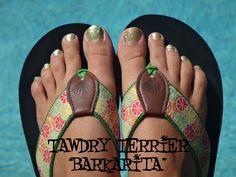 "@TawdryTerrier ""Barkarita"" - 2 bottles available at https://www.etsy.com/shop/TawdryTerrier #nailpolish #indienailpolish #tawdryterrier"