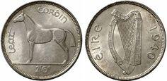 O'Brien Coin Price Guide: Irish Pre-Decimal Halfcrown Irish Free State, Interactive Poster, Ireland Pictures, Old Irish, Erin Go Bragh, Coin Design, Coin Prices, Irish Culture, Old Money