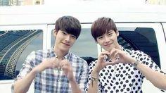 Kim woo bin and lee jong suk