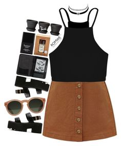 """#romwe"" by credentovideos ❤ liked on Polyvore featuring GANT, Boohoo, Butter London, Charlotte Russe, Cole Haan and Candela"