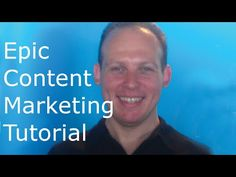Epic content marketing video: publishing schedule, build trust, sell. #marketing