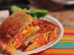 grilled cheese w/tomato and bacon