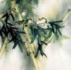 Художник Ching Keck How, акварельные картины | В мире интересного