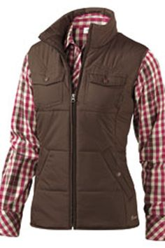 Ariat Telluride Vest Coffee Java