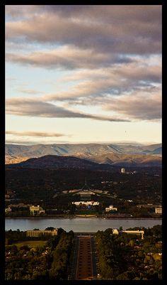 Canberra at sunrise