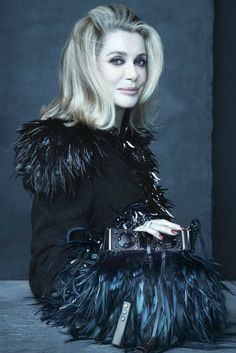 Catherine Deneuve for Louis Vuitton SS 2014