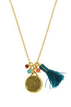 Ohm Tassel Necklace