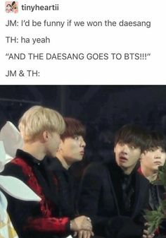 BTS What if they were actually having that conversation