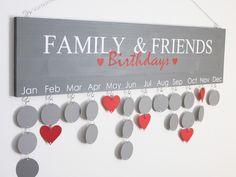 Keine Geburtstage mehr vergessen! Das wünscht sich doch jeder. Alle wichtigen Daten EINMAL an den Kalender gehängt und so bleibt es dir Jahr für Jahr im Blick. Ob Geburtstage, Hochzeitstage,...