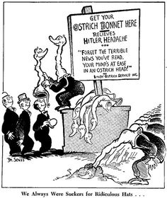 Everyone thinks of Dr. Seuss as some sweet old guy who wrote kids books and made up cute words. Little do they know he was the most hardcore political motherfucker to ever draw cartoons for newspapers of all time.