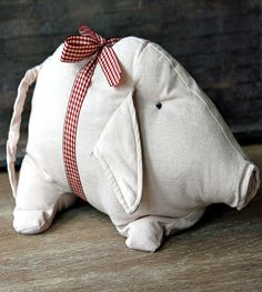 love this adorable elephant plush from Splendid Willow shop