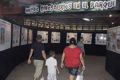 DINOSAURIOS: Cuidado con el T-Rex ¡que muerde! - Esta exposición itinerante es fruto de la colaboración cultural entre Cuba y Venezuela y continuará su paso por otros países latinoamericanos Fotos: AIXA LÓPEZ