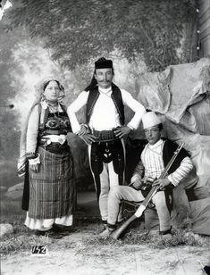 Albanian family from Zadrima