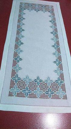 Tammy Jarosz's media content and analytics Hardanger Embroidery, Hand Embroidery, Embroidery Designs, Drawn Thread, Different Stitches, Handmade Table, Bargello, Hand Stitching, Etsy Vintage