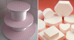 ARAÑA TEJE TEJE: pedestal para tortas o cup cakes