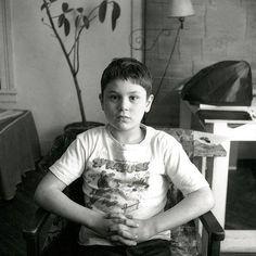 A 7-year-old Robert de Niro in NYC (1950)