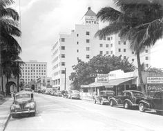 Governors' Club on Las Olas Boulevard - Fort Lauderdale, FL 1939  State Archives of FL, http://www.floridamemory.com/items/show/29728