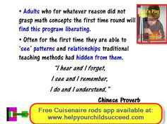 Child's Play Maths: Unit 5 - Important Words and Phrases