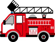 fire engine clipart image cartoon firetruck creating printables rh pinterest com free clipart and fire truck fire engine clip art free