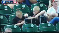 This mom who just wanted to enjoy the game.