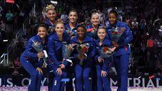 2016 Olympic gymnastics team USA