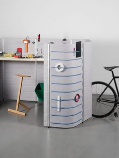 """Created to combat the """"too rigid cubicle offices of the 60s"""" – as workshop leader Camille Blin described it – each of the ECAL-designed office hubs serves a different function."""