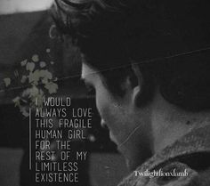Edward Cullen. Not sure if this is in Midnight Sun maybe? Or a cool fan art? Either way, I like it<3