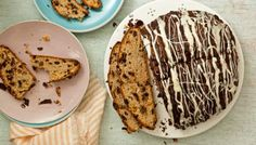 Barmbrack is a tea loaf similar to the Welsh bara brith. Here the same flavours have been used in this sweet bread laced with delicious dried fruit and chocolate.