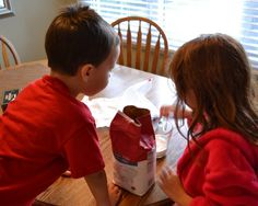 Follow this recipe to make an edible science experiment for kids. Ice cream in a bag!