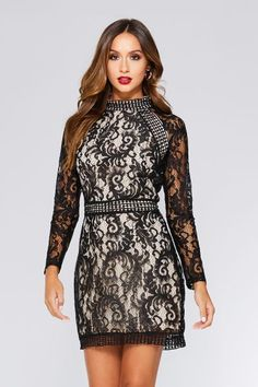This bodycon short dress featuring long sleeve boat neckline and v-back design with embroidered mesh material. Perfect for formal, evening party or any special occasion. Short Cocktail Dresses, Party Dresses, Plus Size Short Dresses Paul Smith, Diane Von Furstenberg, Plus Size Short Dresses, Valentino, Floral Lace Dress, Short Cocktail Dress, Prom Party Dresses, Maxi Dresses, Long Sleeve Mini Dress
