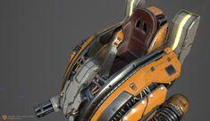 ArtStation - Hover bot A, Anton Gonzalez