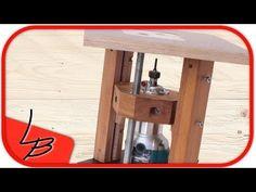 (3/3) Fräslift aus Holz selber bauen. Nur für Profis geeignet! - YouTube