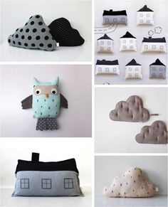 """cloud cushions for kids"""