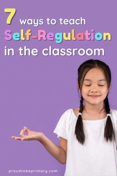 Find helpful ideas for teaching kids to self-regulate in the primary (kindergarten, first, second, and third grade) and elementary classrooms. Learn ideas for developing students' self-control and self-esteem. Teach children to manage their emotions and behaviors with calming and coping methods and self-management strategies, such as a calm down kit, classroom yoga, and brain breaks. Use the FREE balloon breathing posters to guide meditation and relaxation in the classroom. #selfregulation Teaching Respect, Teaching Social Skills, Student Teaching, Teaching Kids, Social Emotional Development, Social Emotional Learning, Homework Incentives, Mindfulness For Teachers, Character Education Lessons