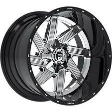 22x14 Chrome Fuel Moab D241 8x180 -70 Wheels Open Country MT 37X13.50R22LT Tires
