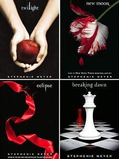 Twilight Saga- ive been a crazy fan and reader from the first book up to the last...❤❤❤