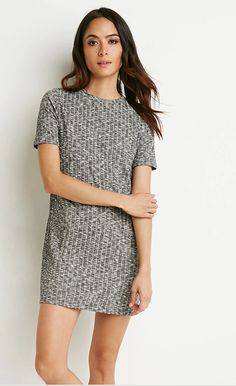Forever 21 Ribbed T-Shirt Dress