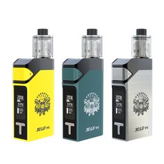 The IJOY SOLO V2 starter kit includes the SOLO V2 200W box mod and the IJOY Limitless subohm tank in a versatile and powerful starter kit. The sliding battery covers are easily removed. Utilizes dual 18650 batteries, the SOLO V2 can fire up to 200 watts. The Temperature Control system support for Nickel (Ni), Titanium (Ti), and Stainless Steel (SS).  Owen-Ijoy Group Email:sales1@ijoycig.com Skype:ijoy.sales1 www.ijoycig.com