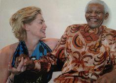 Sharon Stone, Nelson Mandela