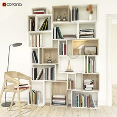 Bookshelves Model available on Turbo Squid, the world's leading provider of digital models for visualization, films, television, and games. Bookshelves, Bookcase, 3d Max, Retail Design, My Dream Home, Modern Farmhouse, Sweet Home, Lounge, Wood Working