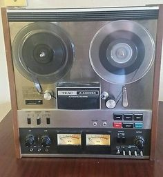 Teac A-4300SX Reel To Reel Auto Reverse, tested working has sound and records